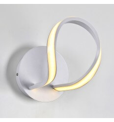 Wandlamp LED modern design wit - Lex