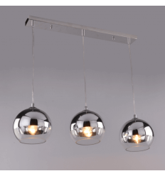 Hanglamp design chroom 3 bollen - Chicago