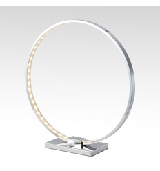 Tafellamp modern design chroom LED Circle