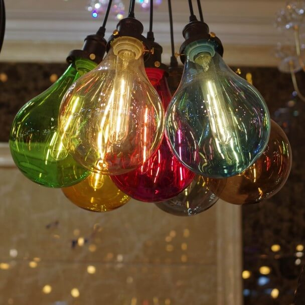 multicolored hanglamp - Spark