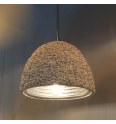 Lamp opknoping wit beton - Levia
